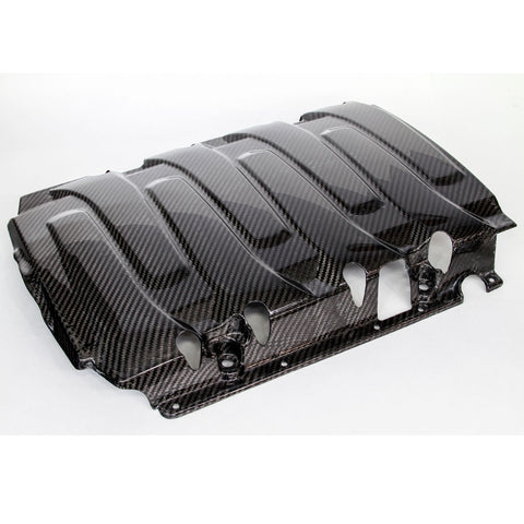 2014-19 Corvette Concept7 Carbon Fiber LT1 Engine Central Intake Cover (2 Variations)