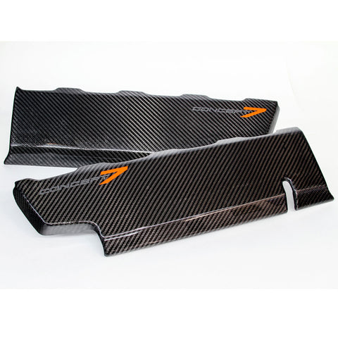 2014-19 Corvette Concept7 Carbon Fiber LT1 Fuel Rail Covers (2 Variations)