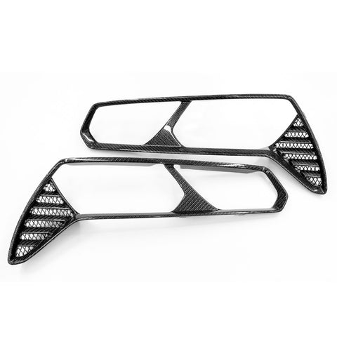 2014-19 Corvette Concept7 Carbon Fiber Tail Lamp Bezels (2 Variations)
