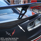 2019 Corvette ZR1 ConceptZR Carbon Fiber Lower Rear Spoiler (2 Variations)