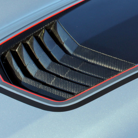 2014-19 Corvette Concept7 Carbon Fiber Hood Heat Extractor (2 Variations)