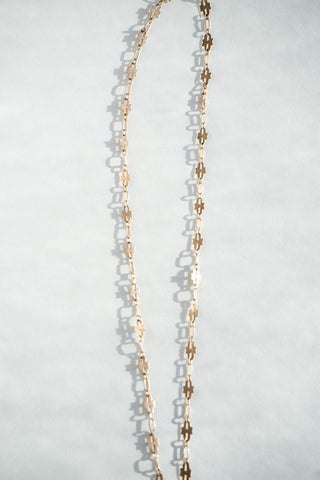 14k Victorian Gold Chain Necklace