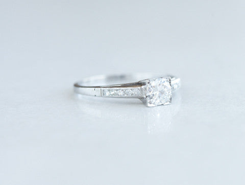 .50 Carat Vintage Engagement Ring