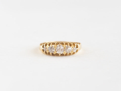 Antique Diamond Five-stone Ring