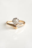 Antique Old Mine Cut Diamond Ring