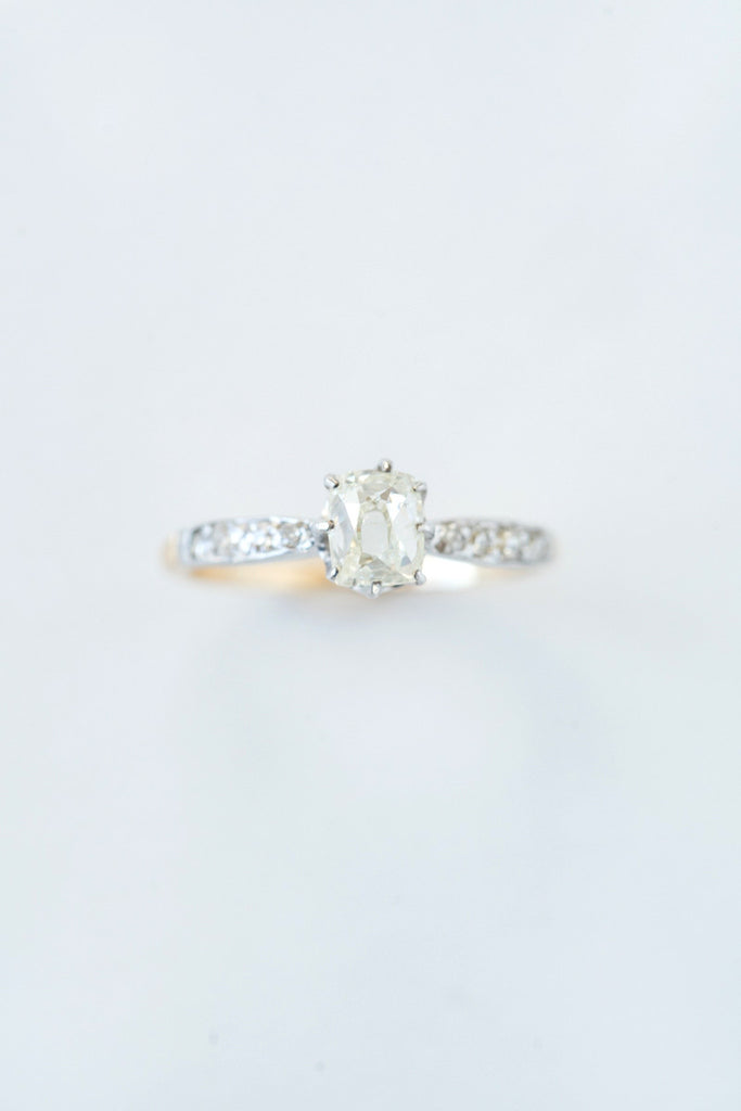 Antique Diamond Prism Ring