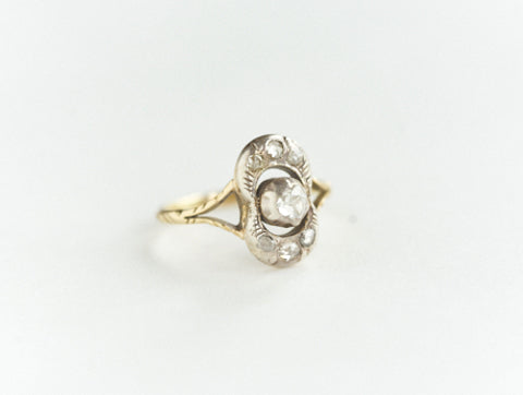 Antique Rosecut Diamond Ring
