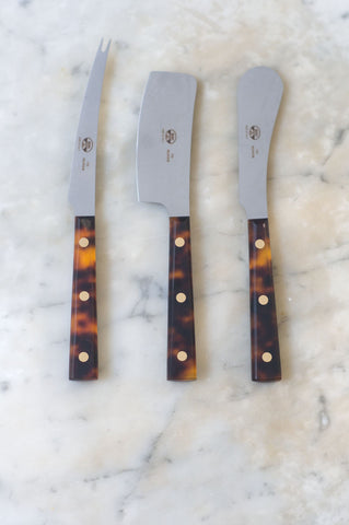 Coltellerie Berti Tortoise Cheese Knives