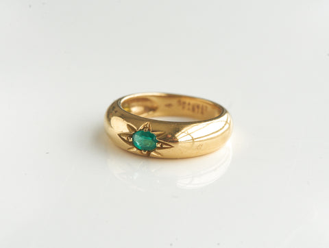 Estate Emerald Chaumet Ring