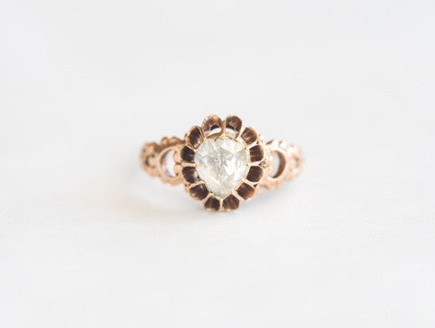 Antique Georgian Rosecut Diamond Ring