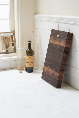 Jacob May Heirloom Cutting Board - Black Walnut Second