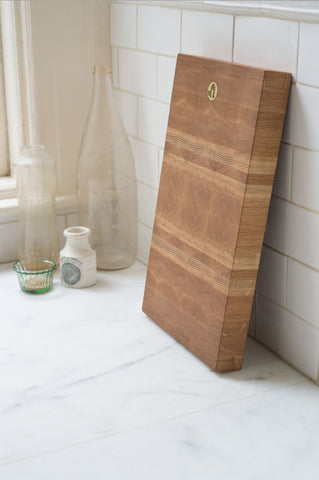 Jacob May Heirloom Cutting Board - White Oak