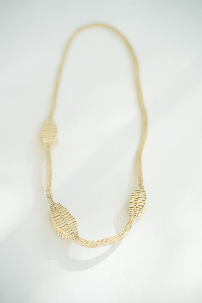 Hand-woven Palm Necklace