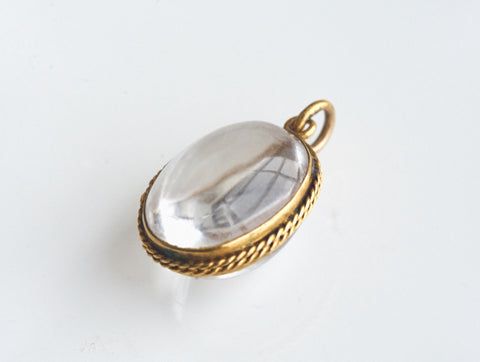 Antique Victorian Rock Quartz Locket