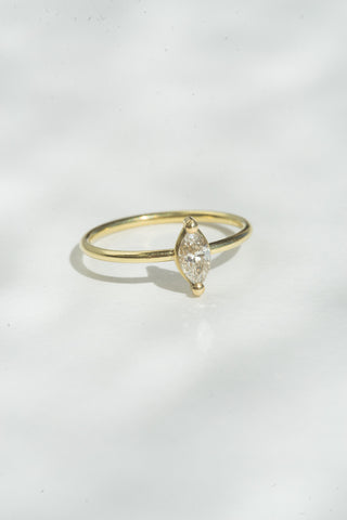 Tura Sugden Champagne Marquis Ring