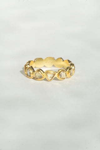Tura Sugden Diamond Cut-Away Eternity Band