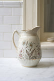 Vintage Wildflower Pitcher