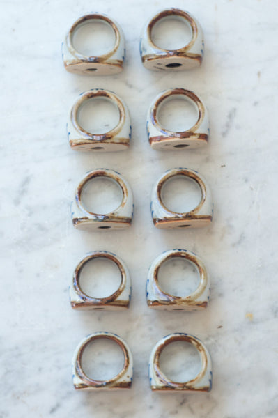 vintage mexican napkin rings quitokeeto