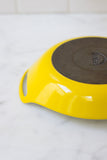 Vintage Yellow Paella Pan