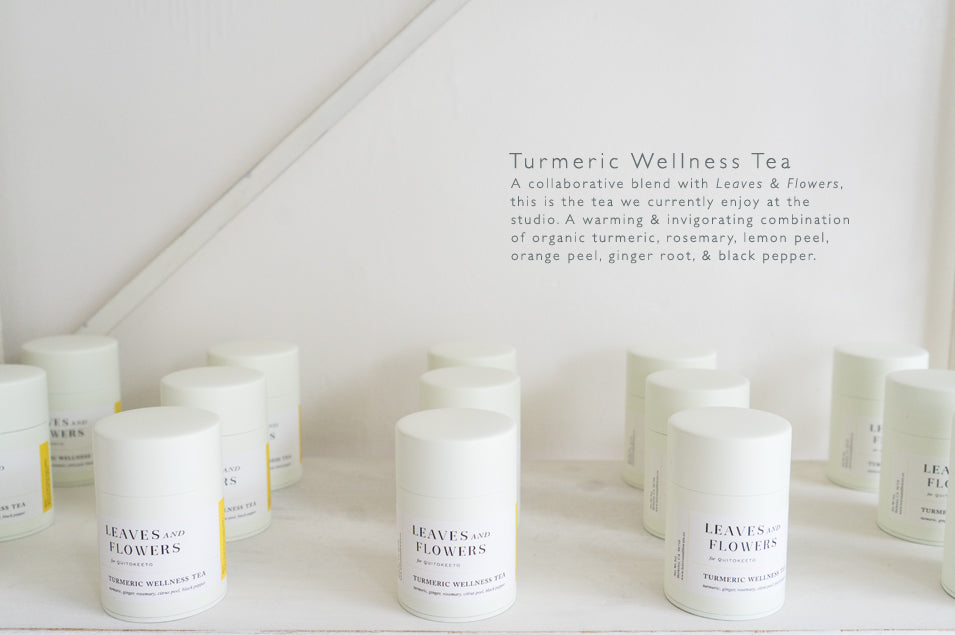 Tumeric Wellness Tea at QUITOKEETO.com