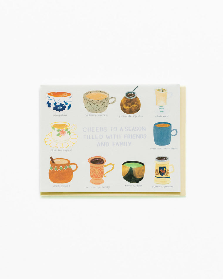 Hot Drinks of the World Card