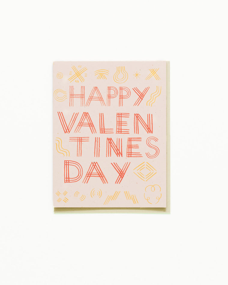 Happy Valentine's Triple Ply Card