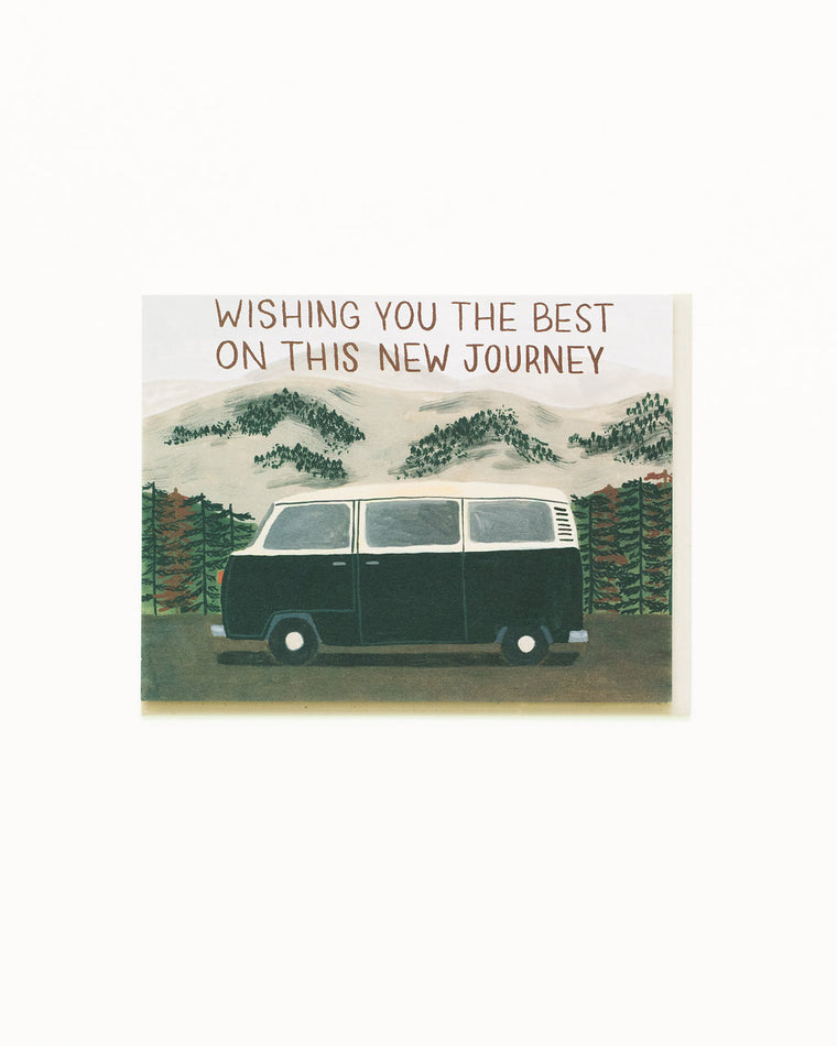 New Journey Van Card