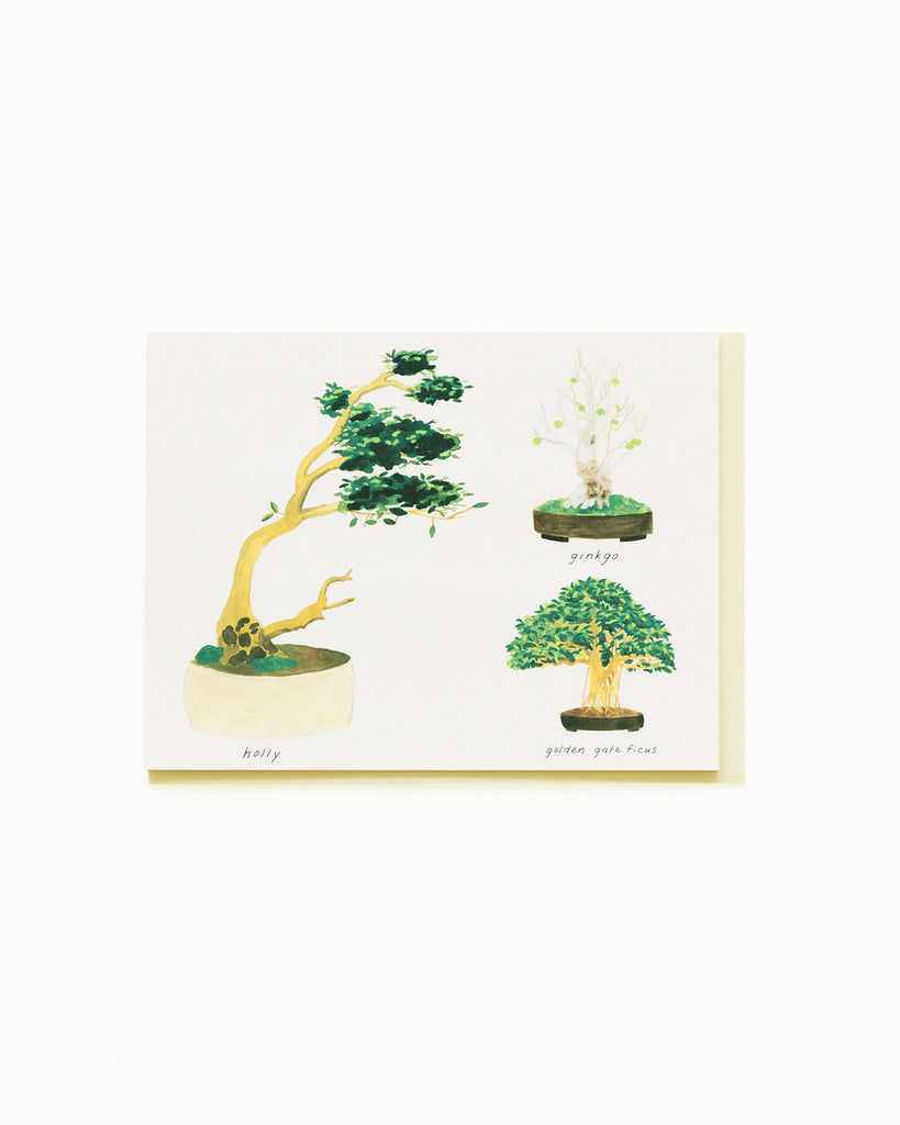Bonsai 3 Card