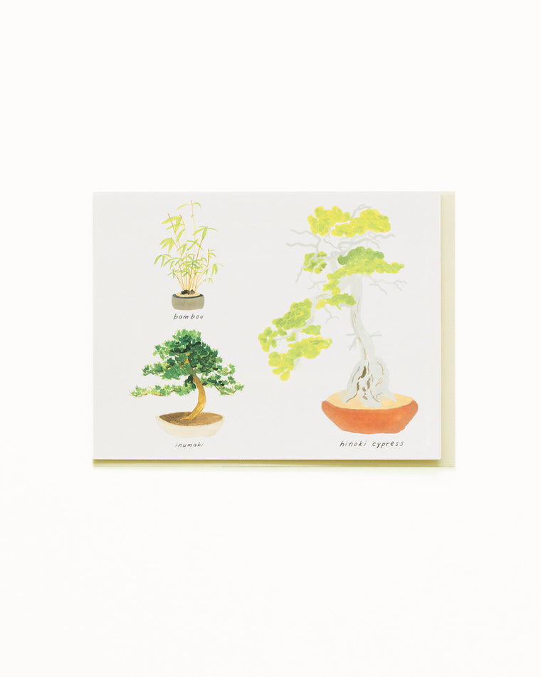 Bonsai 4 Card