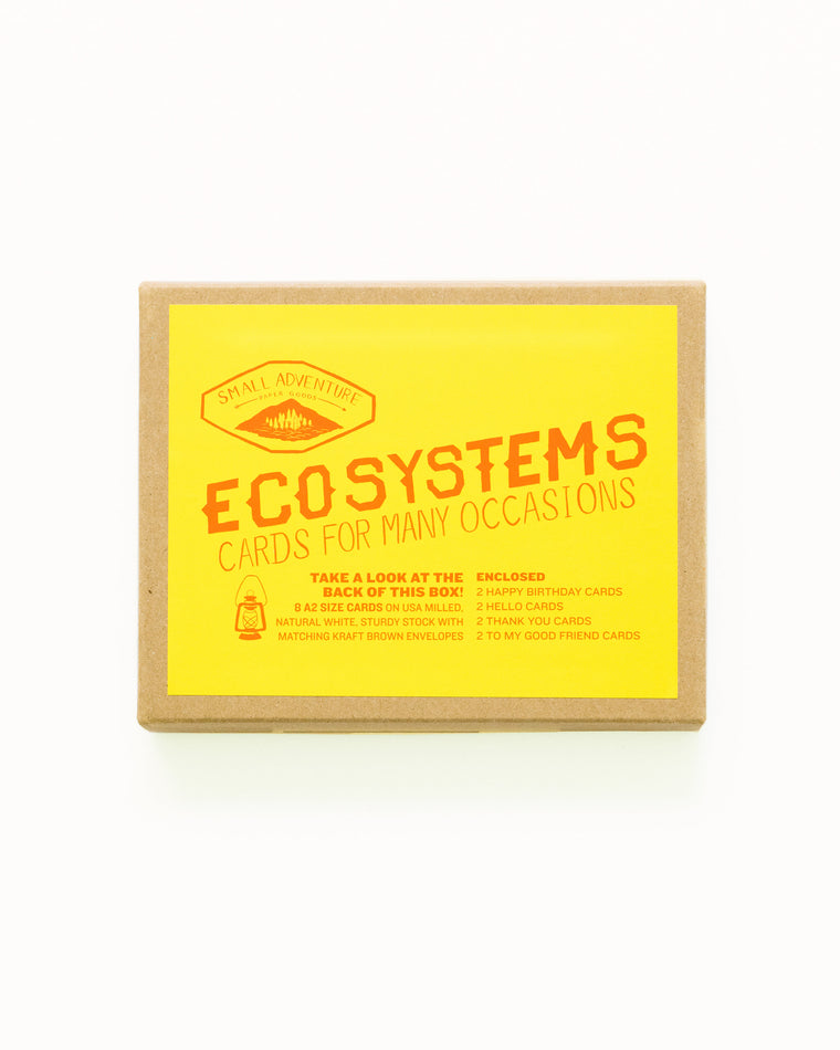 Ecosystems Card Set