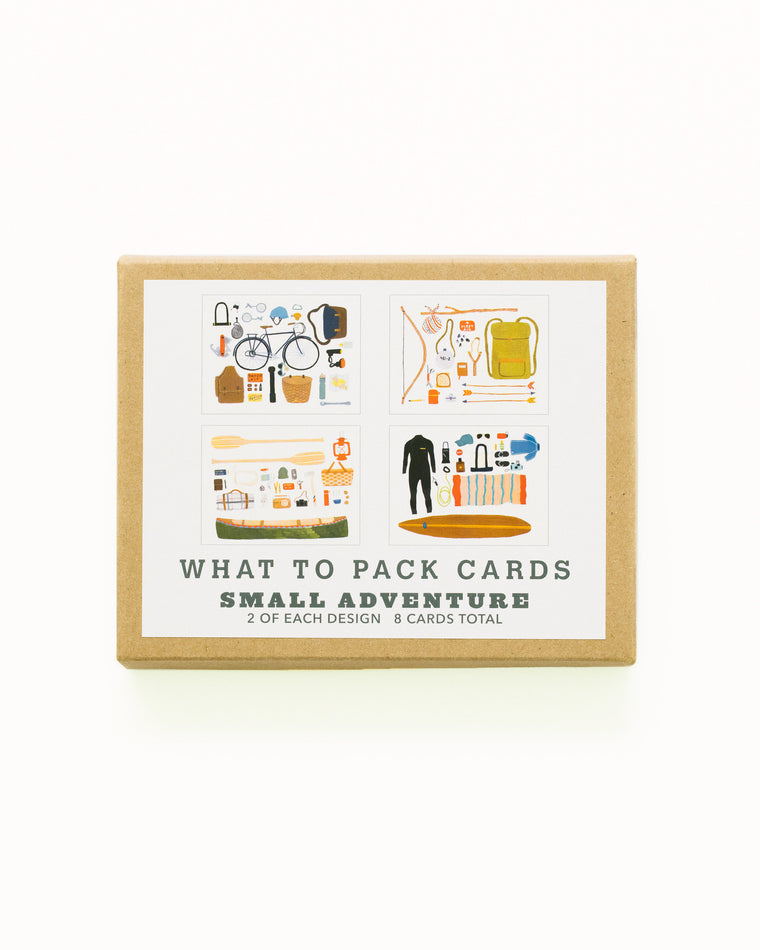 What to Pack Card Set