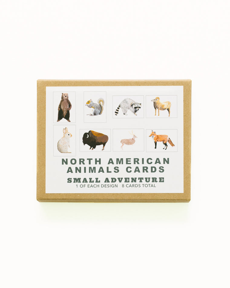 North American Animals Card Set