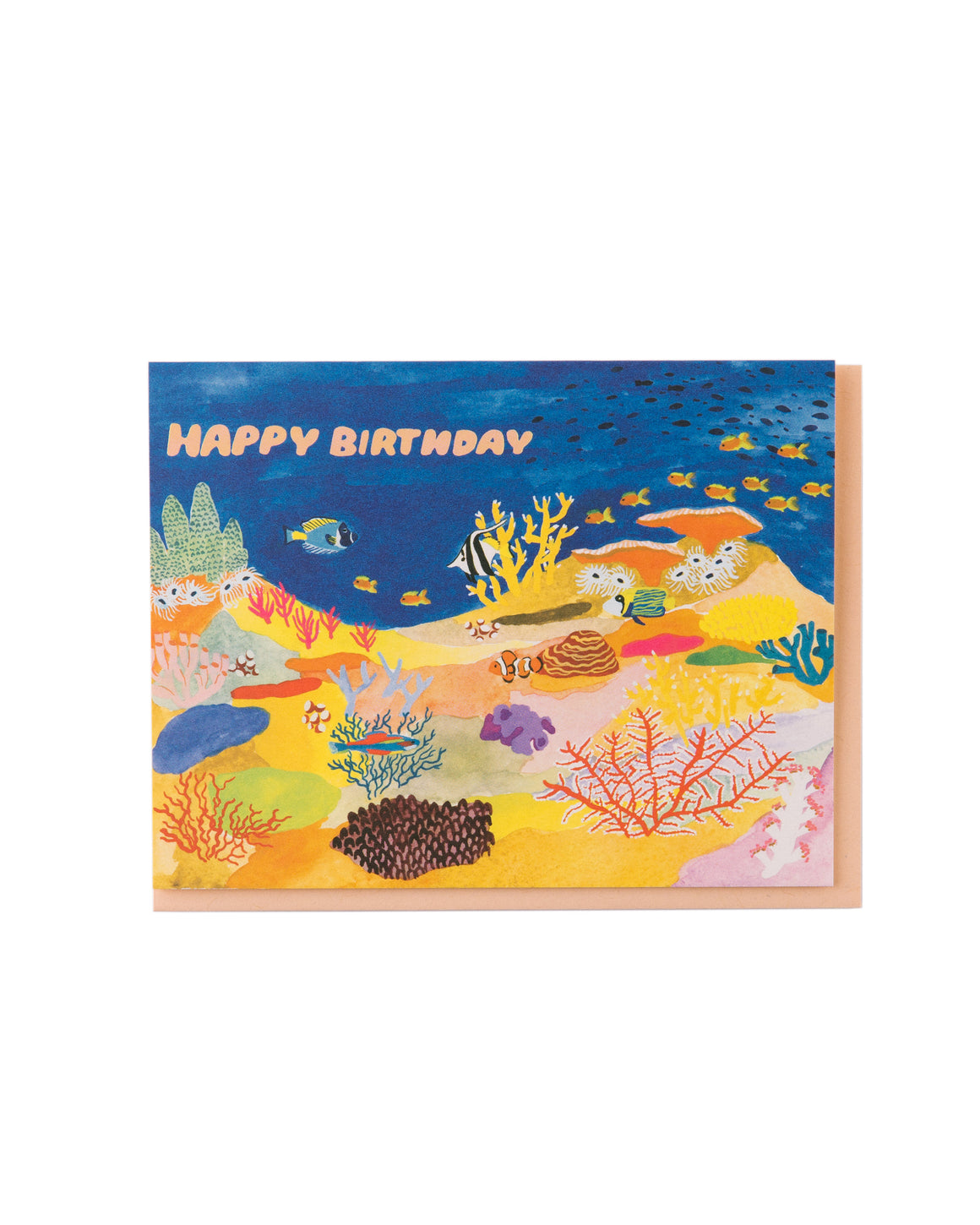 Coral Reef Birthday Card
