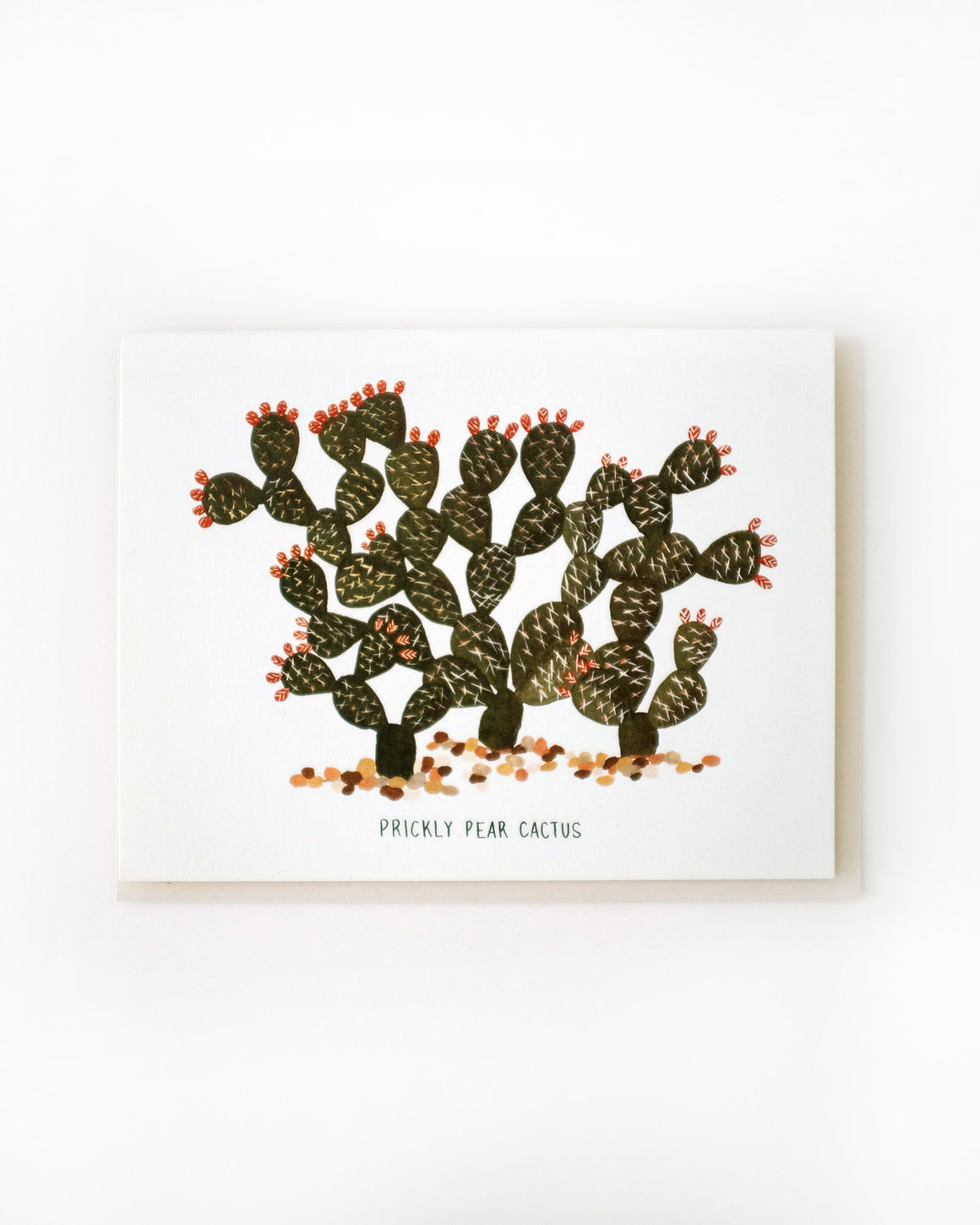 Prickly Pear Cactus Card