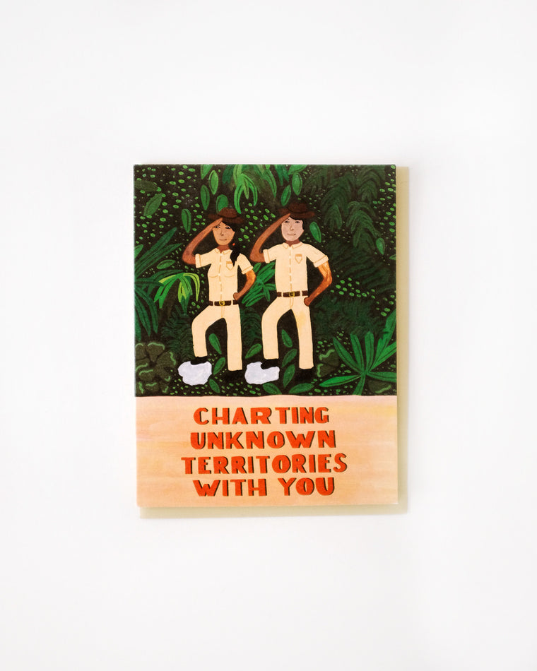 Charting Territories with You Card