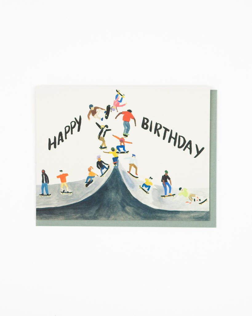 Skater Birthday Card