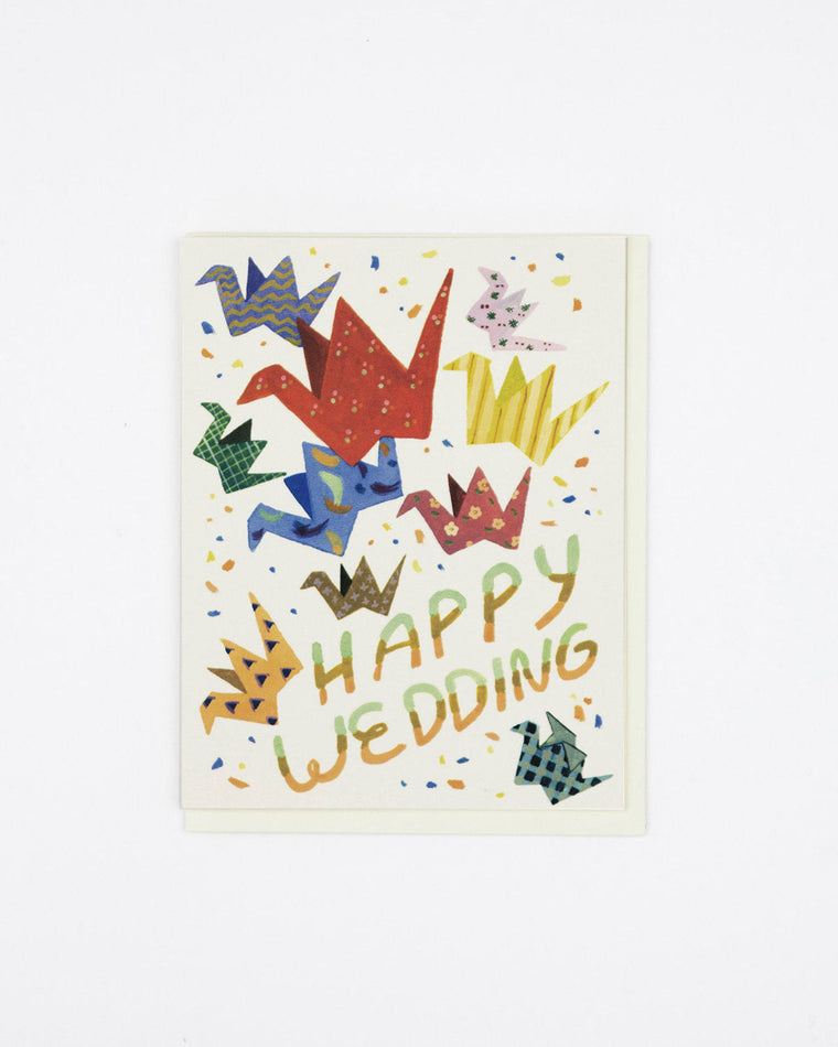 Wedding Cranes Card