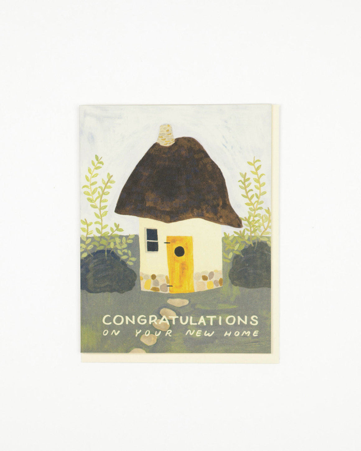 Cob House Congrats Card