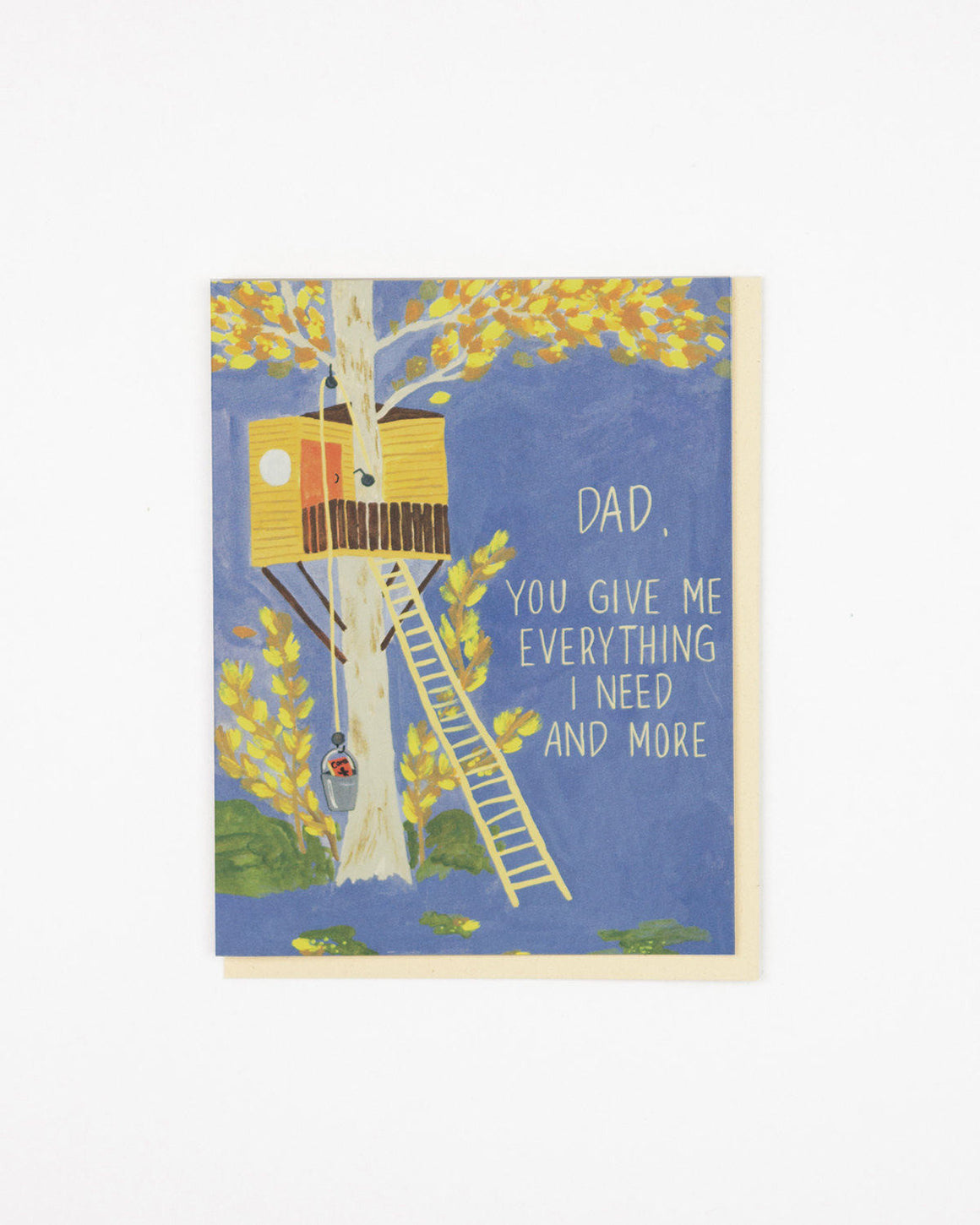 Treehouse Dad Card