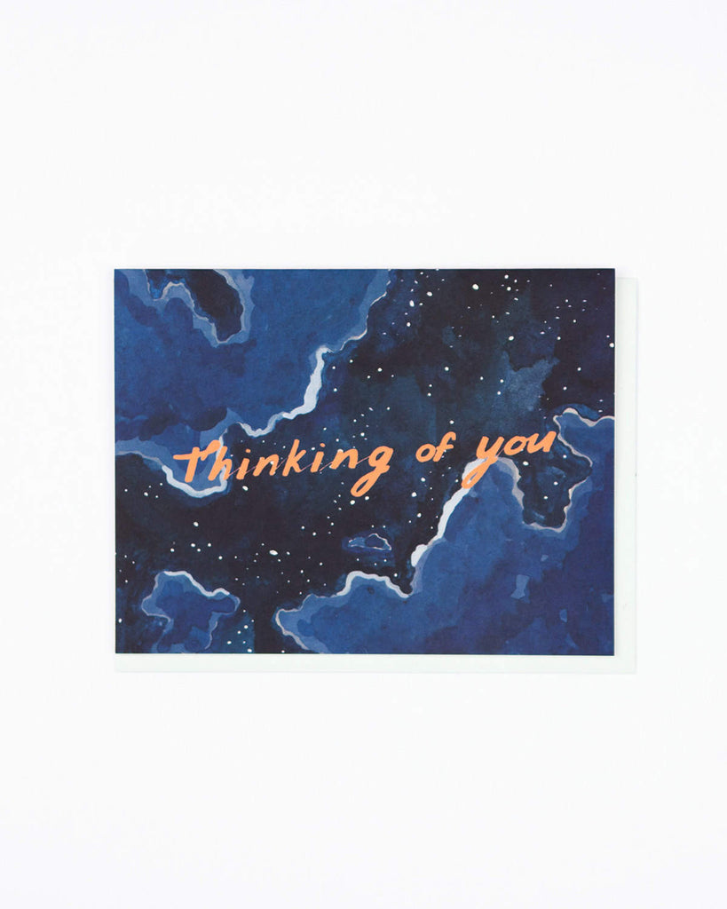 Thinking Of You Night Sky Card