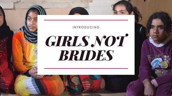 Adornia charity profits Girls Not Brides Organization
