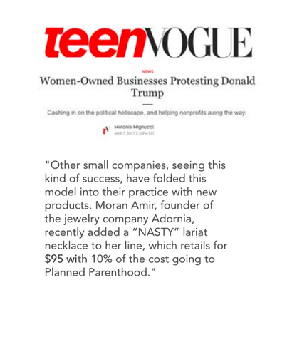 Teen Vogue Article