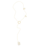 Boss Lariat Necklace