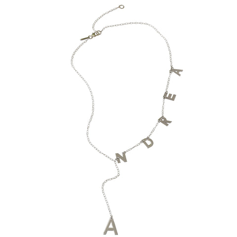 Customizable Lariat Necklace
