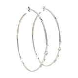 Skinny Love Hoop Earrings