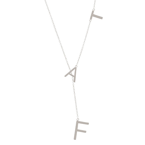 Fat Lariat Necklace