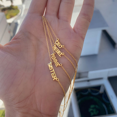 CEO Necklace gold