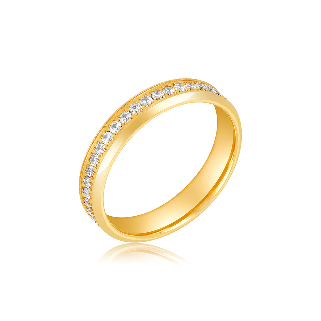 5mm Eternity Band silver gold