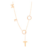 Me Too Lariat Necklace