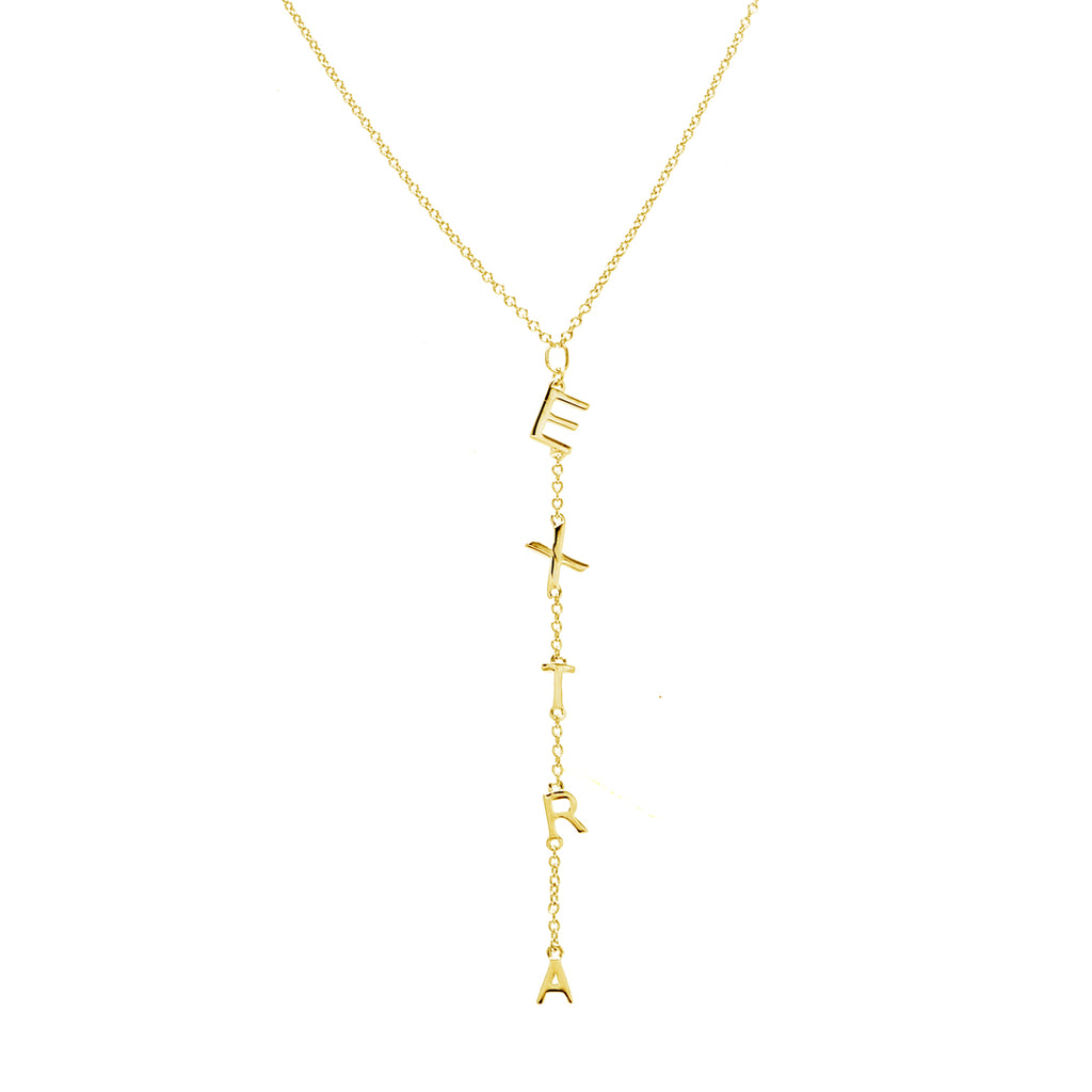 Extra Lariat Necklace